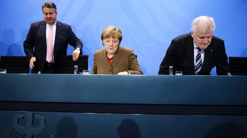 Große Koalition: Noch mal zusammengerauft