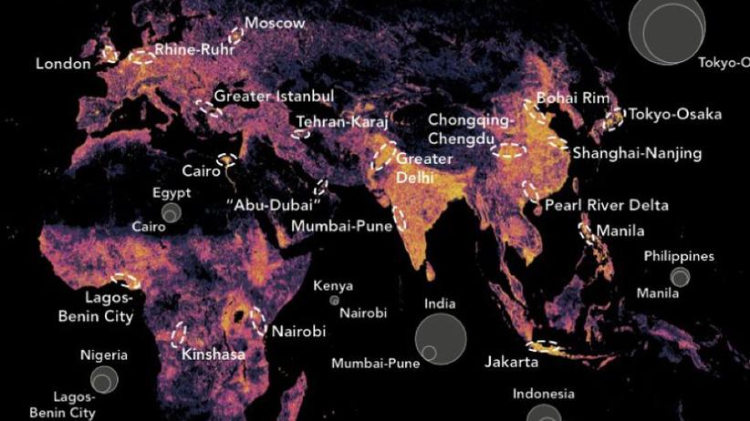 Megacities: Wie Städte-Cluster die Wirtschaft dominieren