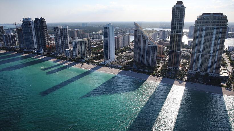 Panama Papers: Diese Eigentumswohnungen in Sunny Isles Beach im US-Bundesstaat Florida stehen laut der Panama-Papiere im Zusammenhang mit Geldwäsche.