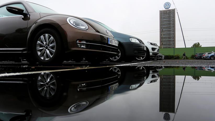 Abgasskandal: Der Firmensitz von VW in Wolfsburg