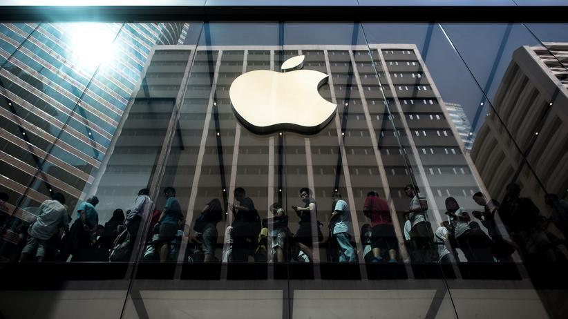 Elektronik: Ein Apple-Store in Hongkong