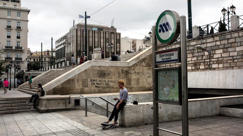 Schuldenstreit: Auf dem Verfassungsplatz in Athen