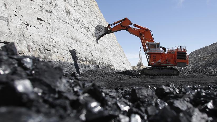 Kohle-Bergbau USA