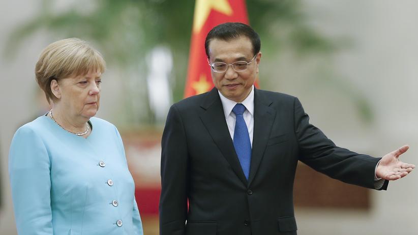 Angela Merkel: Kein Bammel vor China