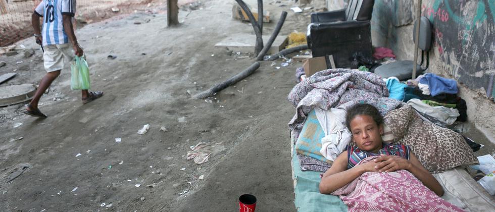 Der Bundesstaat Rio de Janeiro hat den finanziellen Notstand erklärt: Die Sozialhilfe für 111.000 Familien wurde gestrichen.