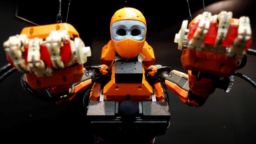 Technischer Fortschritt: Ein menschlicher Tauchroboter