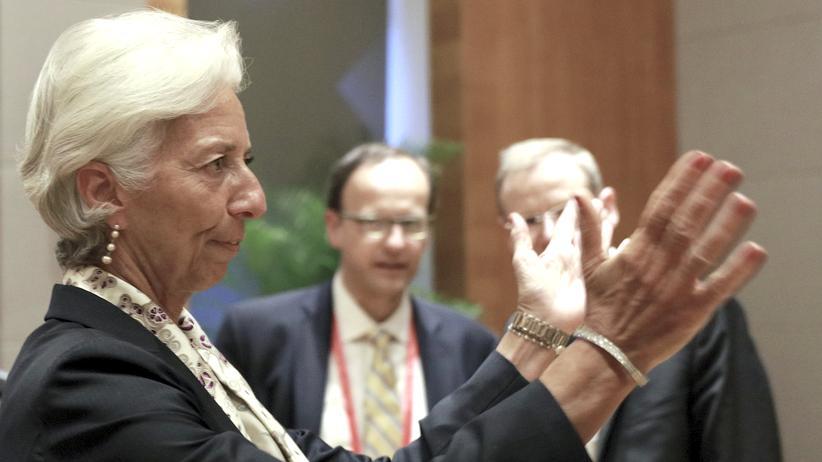 G 20: Die Chefin des Internationalen Währungsfonds (IWF), Christine Lagarde, beim G20-Treffen im chinesischen Chengdu.