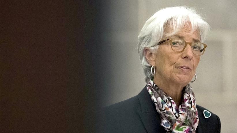 Christine Lagarde IWF