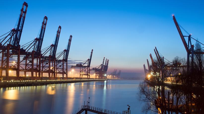 Freihandelsabkommen: Schiffe im Hamburger Hafen