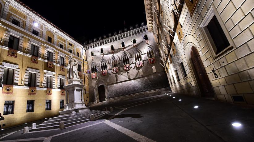 Italienische Banken: Altehrwürdig, aber in Gefahr: die Bank Monte dei Paschi di Siena