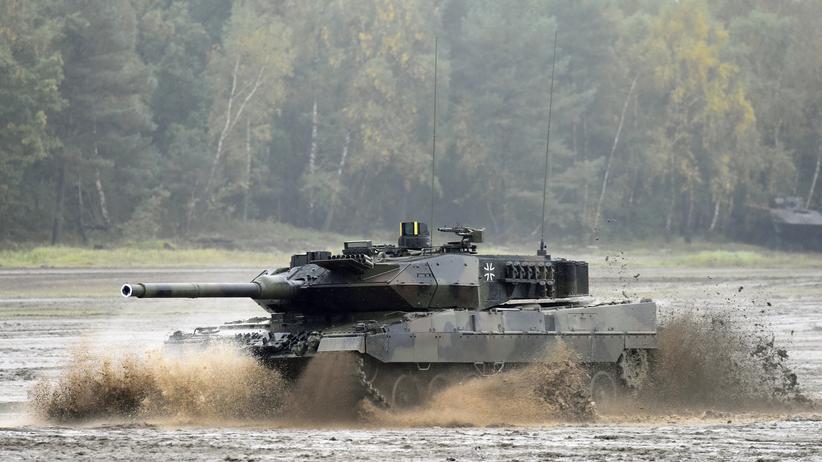 Deutsche Waffen sind auch 2016 im Ausland gefragt.