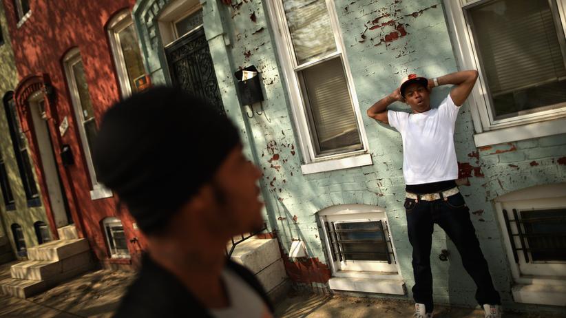 Schwarze USA Baltimore Sandtown