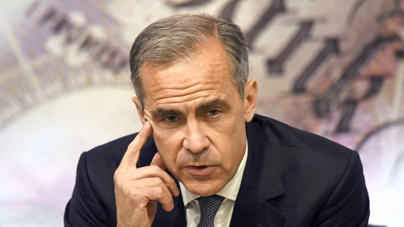 Mark Carney Notenbankchef GRoßbritannien