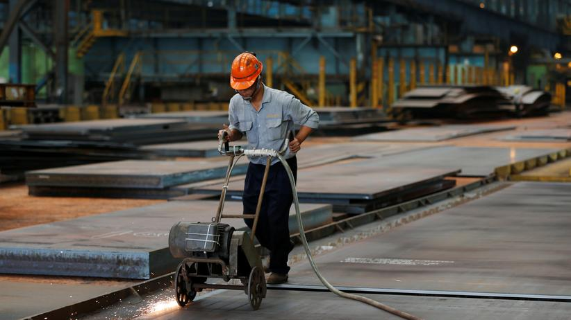 Globalisierung: Abgehängt: China profitiert weniger von der Globalisierung als reiche Industriestaaten.