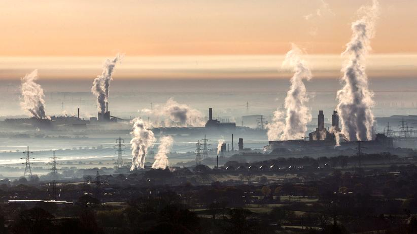 Club of Rome: Das Industriegebiet Dee Estuary in Wales, Großbritannien