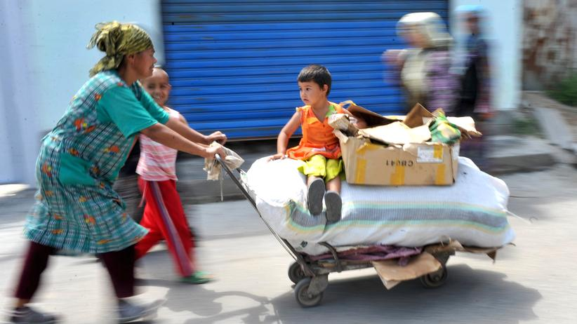 Usbekistan: Sie erben Eselskarren und Glaspaläste