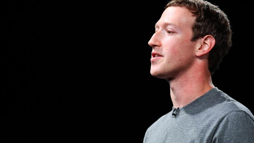 Antonio García Martínez: Der Facebook-Gründer Mark Zuckerberg während einer Rede in Spanien
