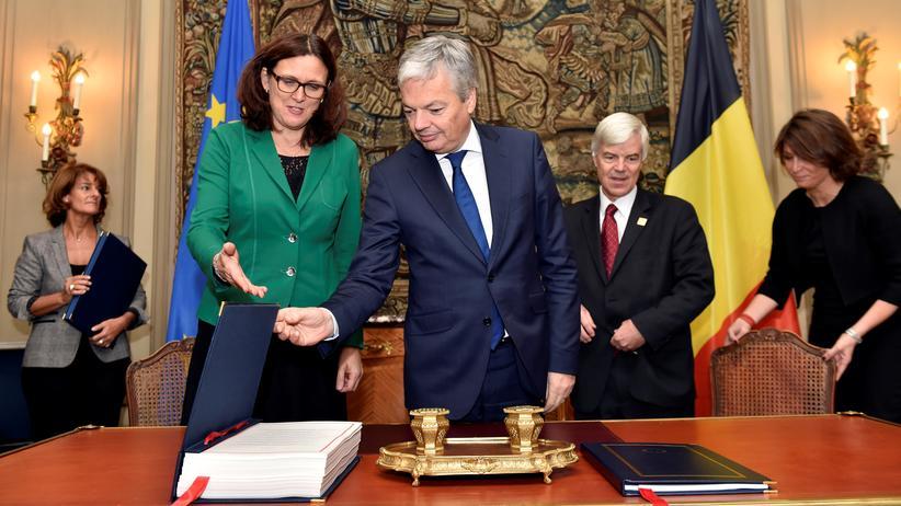 Ceta: Belgien hat unterzeichnet
