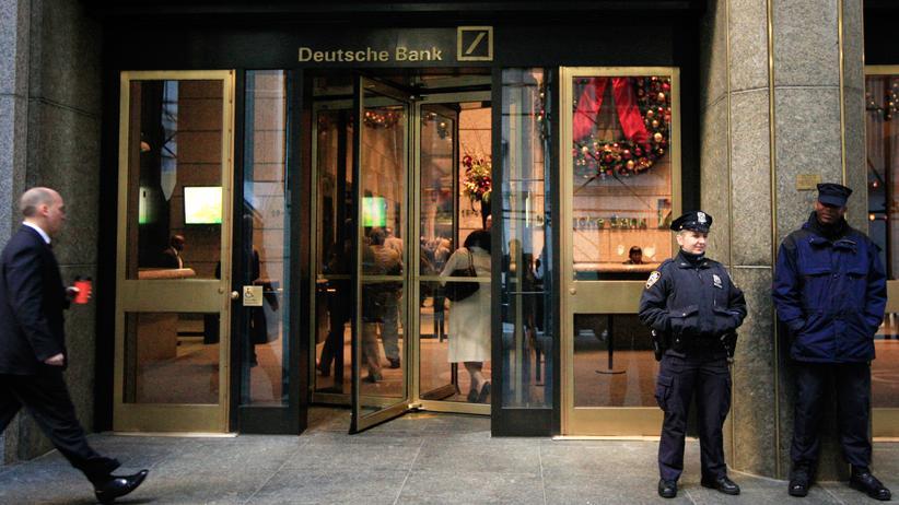 Deutsche Bank: Das Büro der Deutschen Bank in der Wall Street in New York