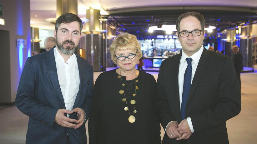 Ceta: Fabio De Masi (Die Linke), Eva Joly (Europe Écologie – Les Verts), Emmanuel Maurel (Parti socialiste)