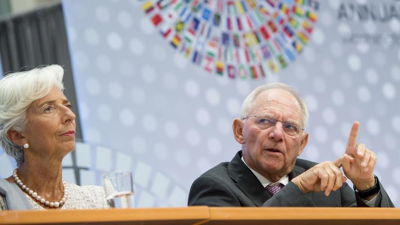 IWF: Währungsfonds fordert Schuldenschnitt für Griechenland