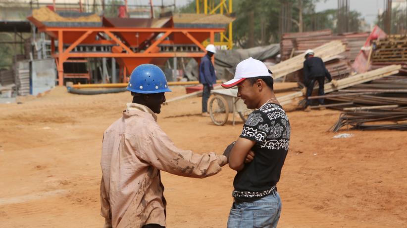 Paul Collier: Niamey, Niger, im vergangenen Februar: Ein nigrischer Bauarbeiter unterhält sich mit seinem chinesischen Vorarbeiter.