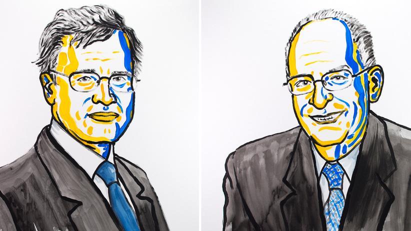 Nobelpreis: Wirtschaftsnobelpreis geht an Oliver Hart und Bengt Holmström