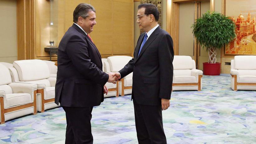 Sigmar Gabriel: Chinas Staatsmedien verschweigen Gabriel-Besuch