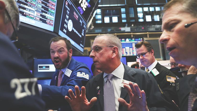 Nach der US-Wahl: Händler an der New Yorker Börse