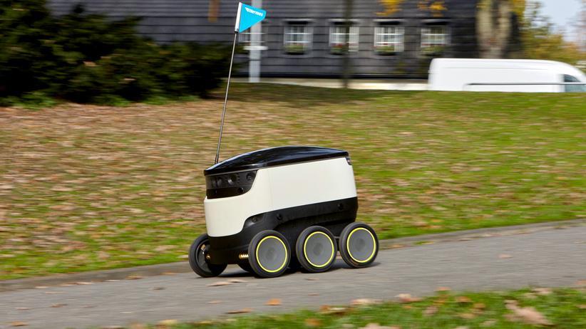 Transportroboter: Soll er mal kommen, der Rolleimer