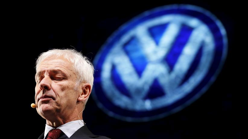 Abgasskandal: VW-Chef Matthias Müller bedauerte die Handlungen die zur Dieselkrise geführt hatten.