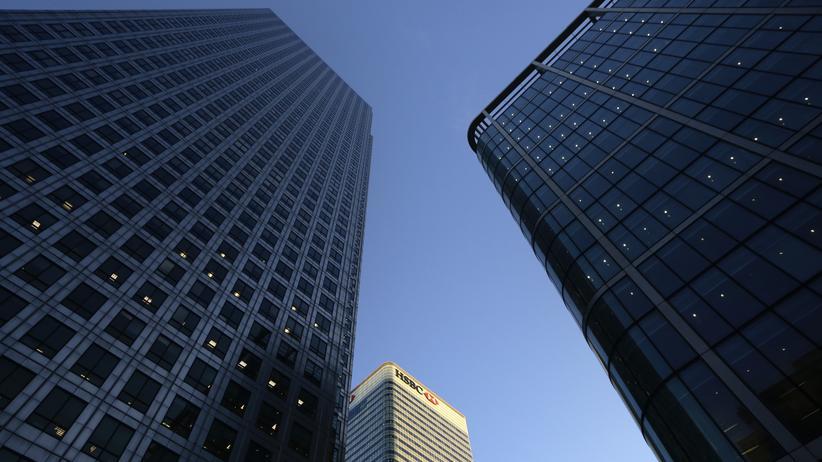 Brexit: Der Hauptsitz der international agierenden Großbank HSBC in London