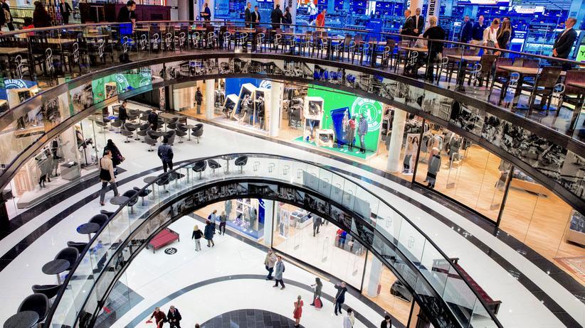 """Eurozone: Einkaufszentrum """"Mall of Berlin"""""""