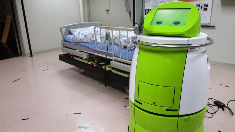 Pflegeroboter: Terapio soll den Arbeitsalltag von Ärzten und Krankenpflegern erleichtern.