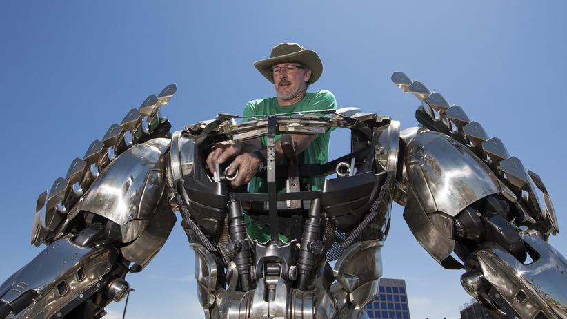 "Roboter: ""Silver Surfer"", Comic-Charakter, unvollständig"