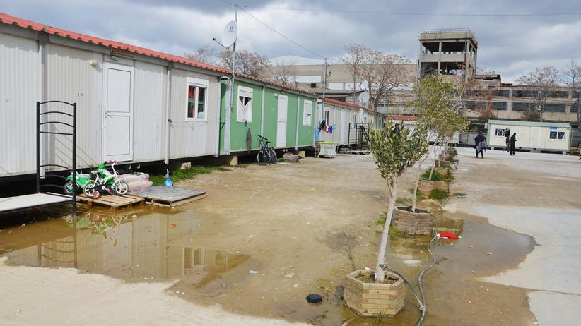 Flüchtlingskrise: Flüchtlingslager in Athen