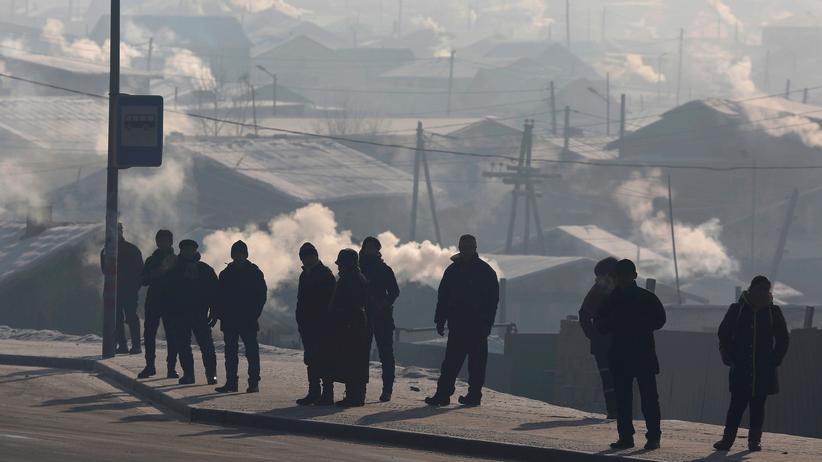Mongolei: In Smog gehüllt