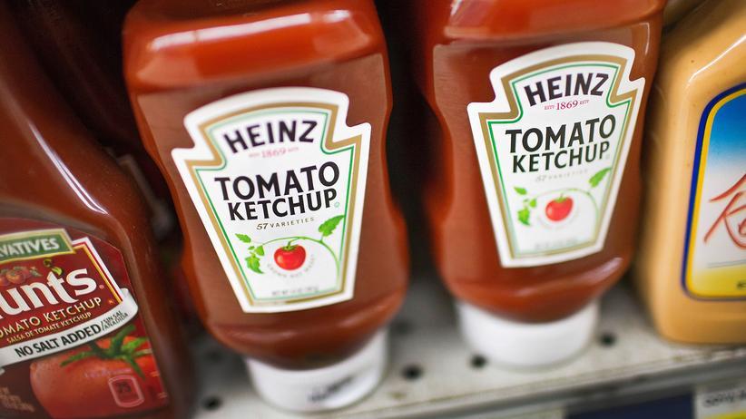 Lebensmittel: Der Ketchupkonzern Kraft Heinz strebt eine Übernahme von Unilever an.