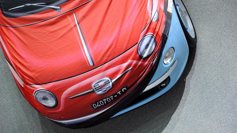 Abgaswerte: Ein Fiat auf dem Genfer Auto-Salon (Archivbild)