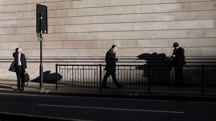 Großbritannien: Finanzdistrikt in London