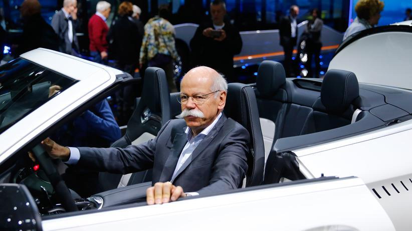 Hauptversammlung: Daimler-Chef Dieter Zetsche
