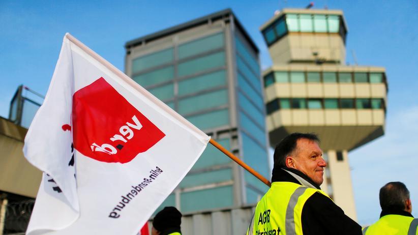 Ver.di: Berliner Flughäfen und Bodenpersonal beenden Tarifstreit