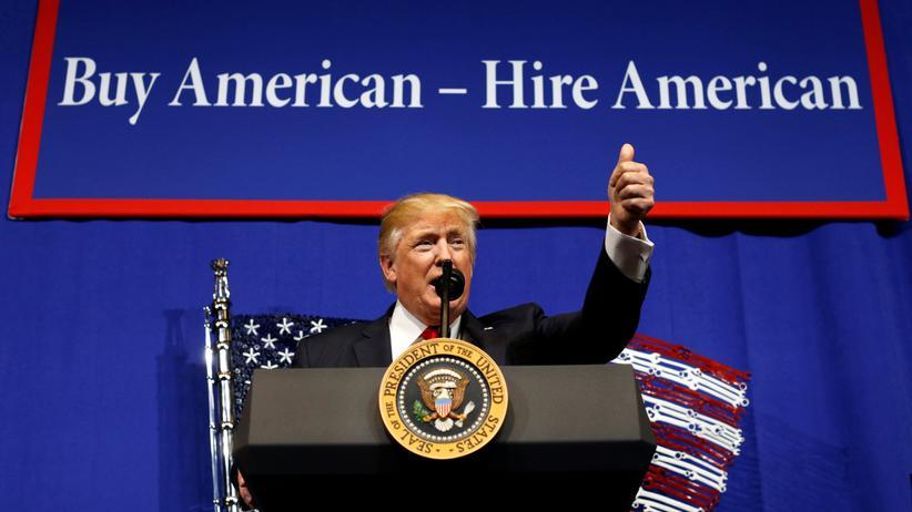 Donald Trump will weniger ausländische Fachkräfte nach Amerika lassen.