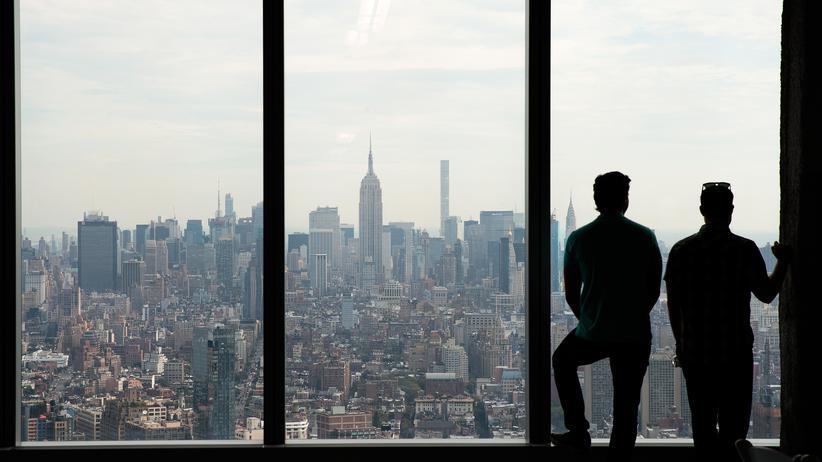 Weltwirschaft: Blick über Manhattans Banktürme