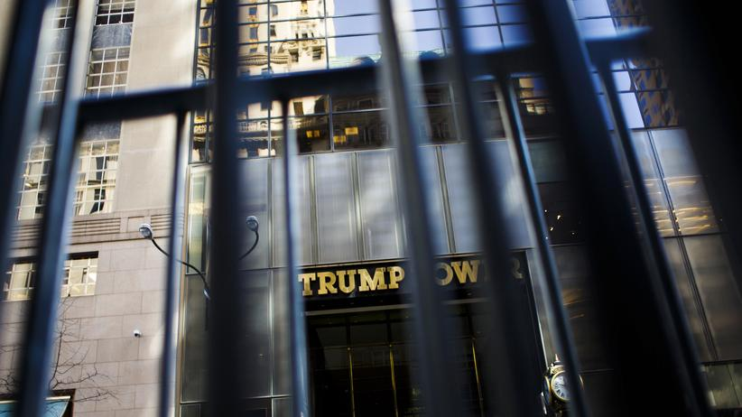 Steuerreform: Trump Tower in New York