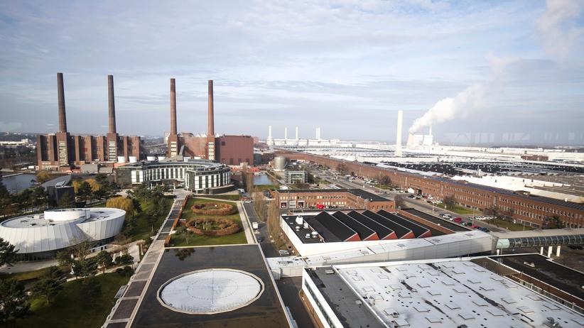 Hausdurchsuchungen in Kanzleien: Das Volkswagen-Werk in Wolfsburg