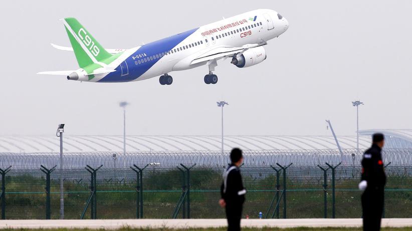Passagierflugzeug: China startet zum Angriff auf Boeing und Airbus