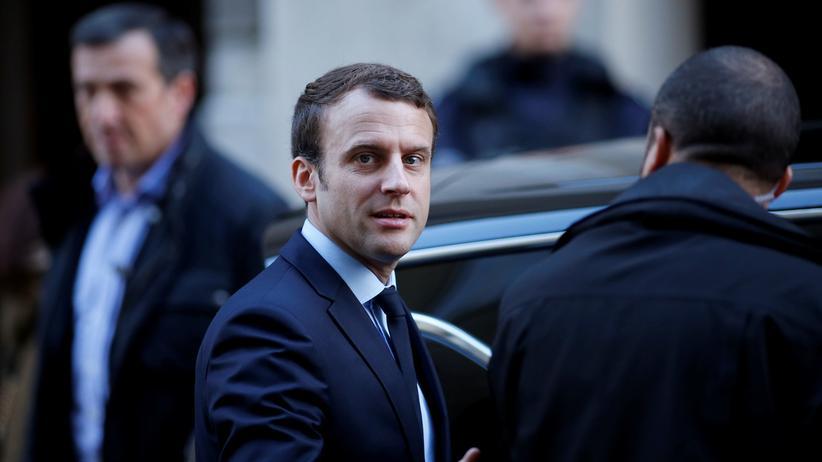 Finanzpolitik: Emmanuel Macron in Paris