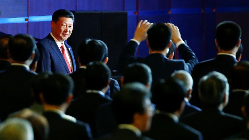 Neue Seidenstraße: Xi bei der Eröffnung des Gipfels zur Neuen Seidenstraße
