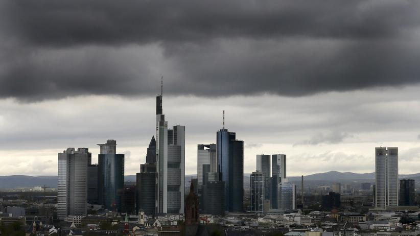 Cum-Ex-Skandal: Dunkle Wolken über dem Bankenviertel in Frankfurt am Main